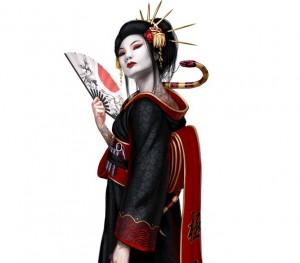 A glimpse of Lady Katana