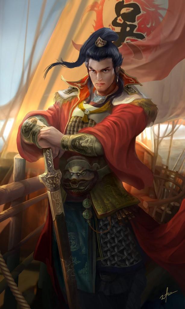 dynasty_warrior___sunquan_by_derricksong-d7kg5up